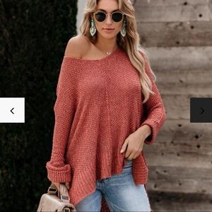 LAID BACK KNIT SWEATER
